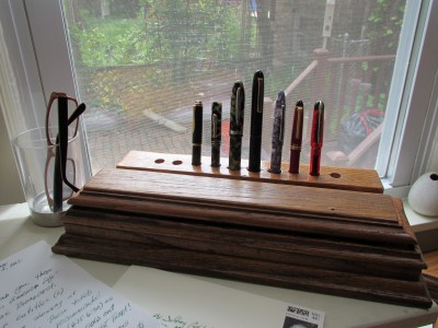 My Style: Custom Fountain Pens, Handmade Ink Box and Vertical Stand (3/4)