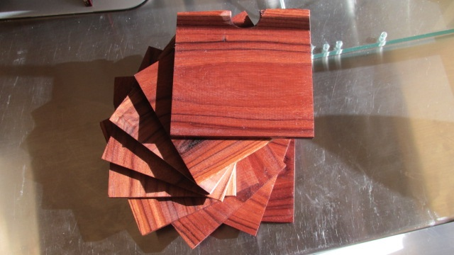 Simple Square Box and Coasters (4/4)